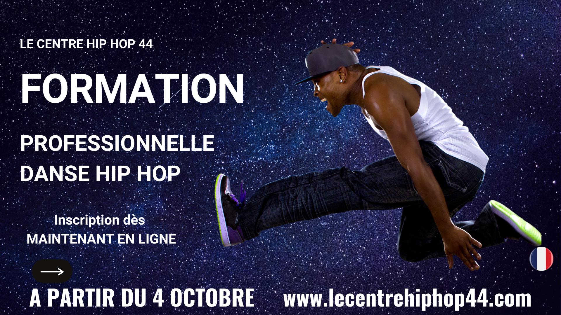 Formation pro danse hip hop