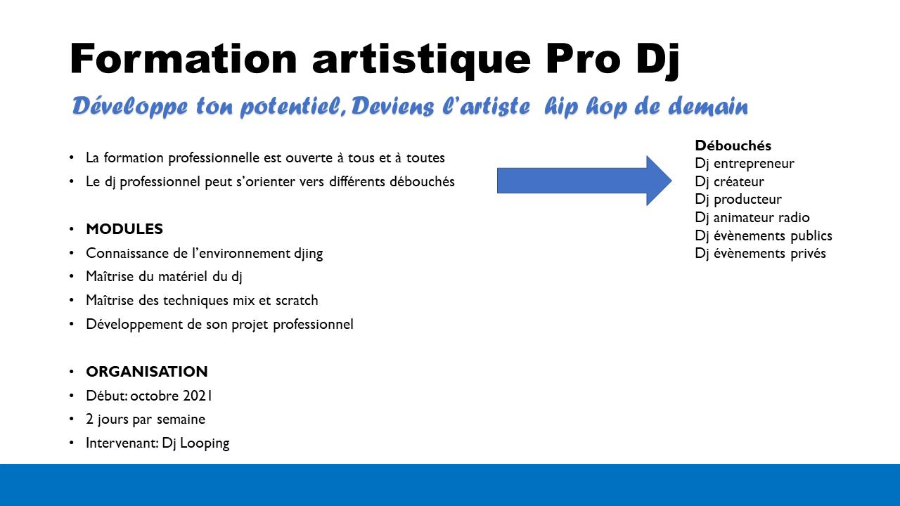 Formation pro dj