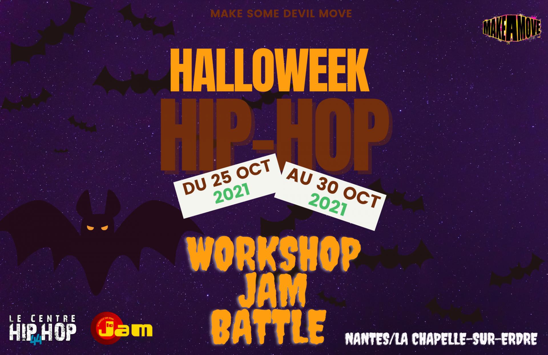 Stages danse hip hop vacances octobre